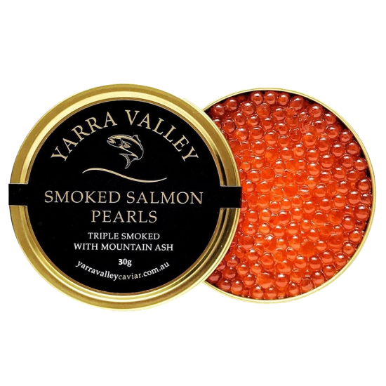 Yarra Valley Smoked Salmon Pearls