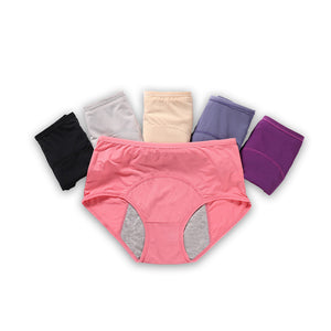 SS Online Trading - Plus Size Shop - Panties - Leakproof Breathable Antibacterial Menstrual Sanitary Period Underwear