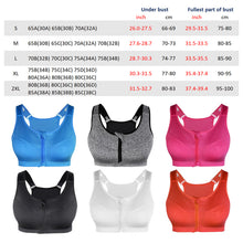 Load image into Gallery viewer, SS Online Trading - SSHK Shop - Sports Bra - Front ZIp Sports Bra