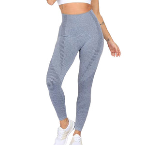 High waist single coloured sports pants (S-L)
