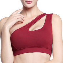 Load image into Gallery viewer, SS Online Trading - SSHK Shop - Products - Sportswear - Sports bra - One side shoulder strap sports bra (S-XL)