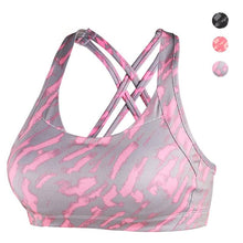 Load image into Gallery viewer, Camouflage print sports bra (S-L)