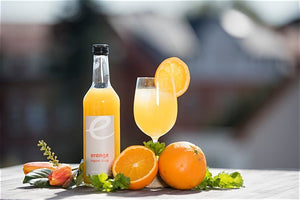 Orange Ingwer Sirup