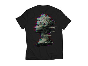 Glitch Queen Black T-Shirt
