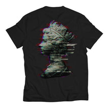 Load image into Gallery viewer, Glitch Queen Black T-Shirt