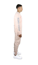 Load image into Gallery viewer, Pink & Silver Kanji Tracksuit