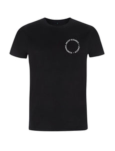 SAE Worn Logo - Black T-shirt