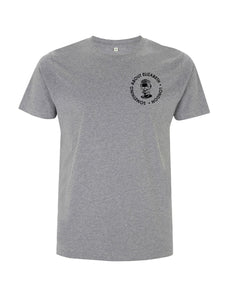 The SAE Black Logo -Melange Grey T-Shirt