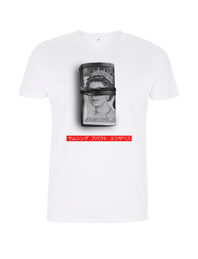Money Roll  -White  T-Shirt