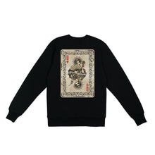 Load image into Gallery viewer, Queen Of Hearts Sweatshirt - Black