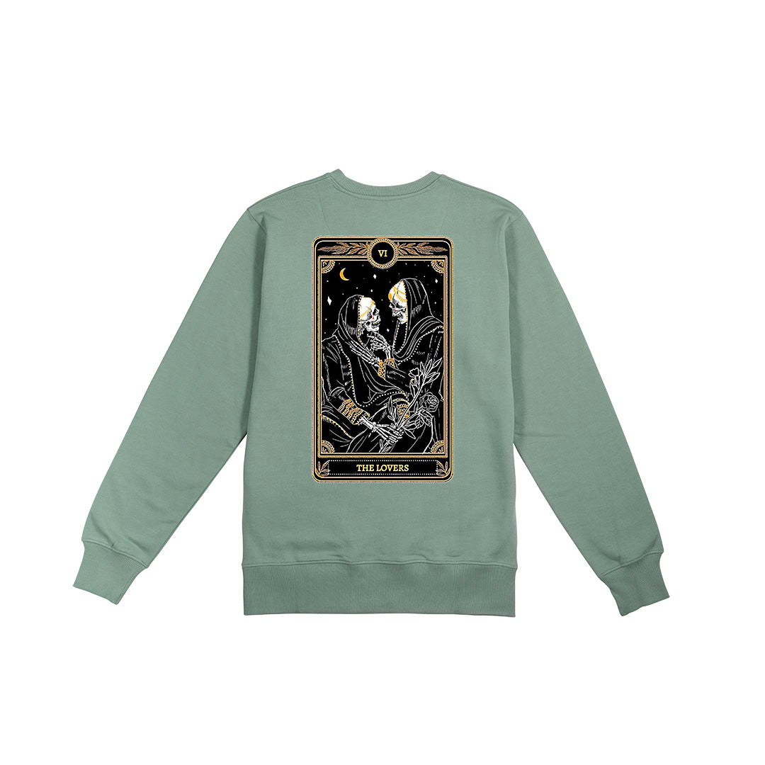 Lovers Sweatshirt - Slate Green