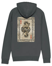 Load image into Gallery viewer, Queen Of Hearts Hoody - Anthracite Grey