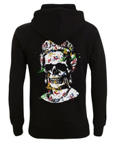 Load image into Gallery viewer, Splash Skull Artwork -Black Hoody