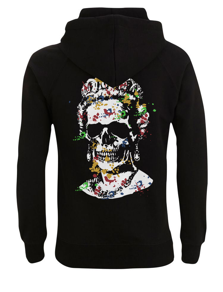 Splash Skull Artwork -Black Hoody