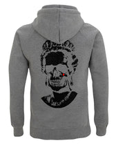 Load image into Gallery viewer, Something About Elizabeth Front Logo - Dark Heather Hoody