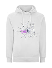 Load image into Gallery viewer, Glitch Queen - White Hoody
