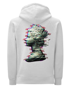 Glitch Queen - White Hoody