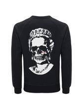 Load image into Gallery viewer, White Root Of All Evil- Black Sweatshirt