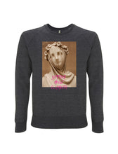 Load image into Gallery viewer, Bellini's Tear - Melange Black Sweatshirt