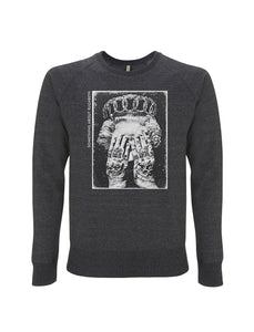 Statement of Intent- Melange Black Sweatshirt