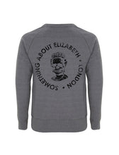 Load image into Gallery viewer, SAE Worn Logo - Melange Dark Grey Sweatshirt(Black)