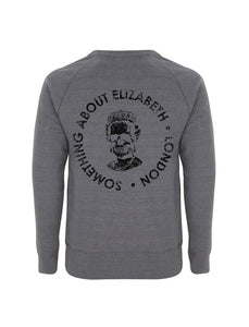 SAE Worn Logo - Melange Dark Grey Sweatshirt(Black)