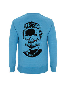 Root of All Evil -Melange Mid Blue Sweatshirt