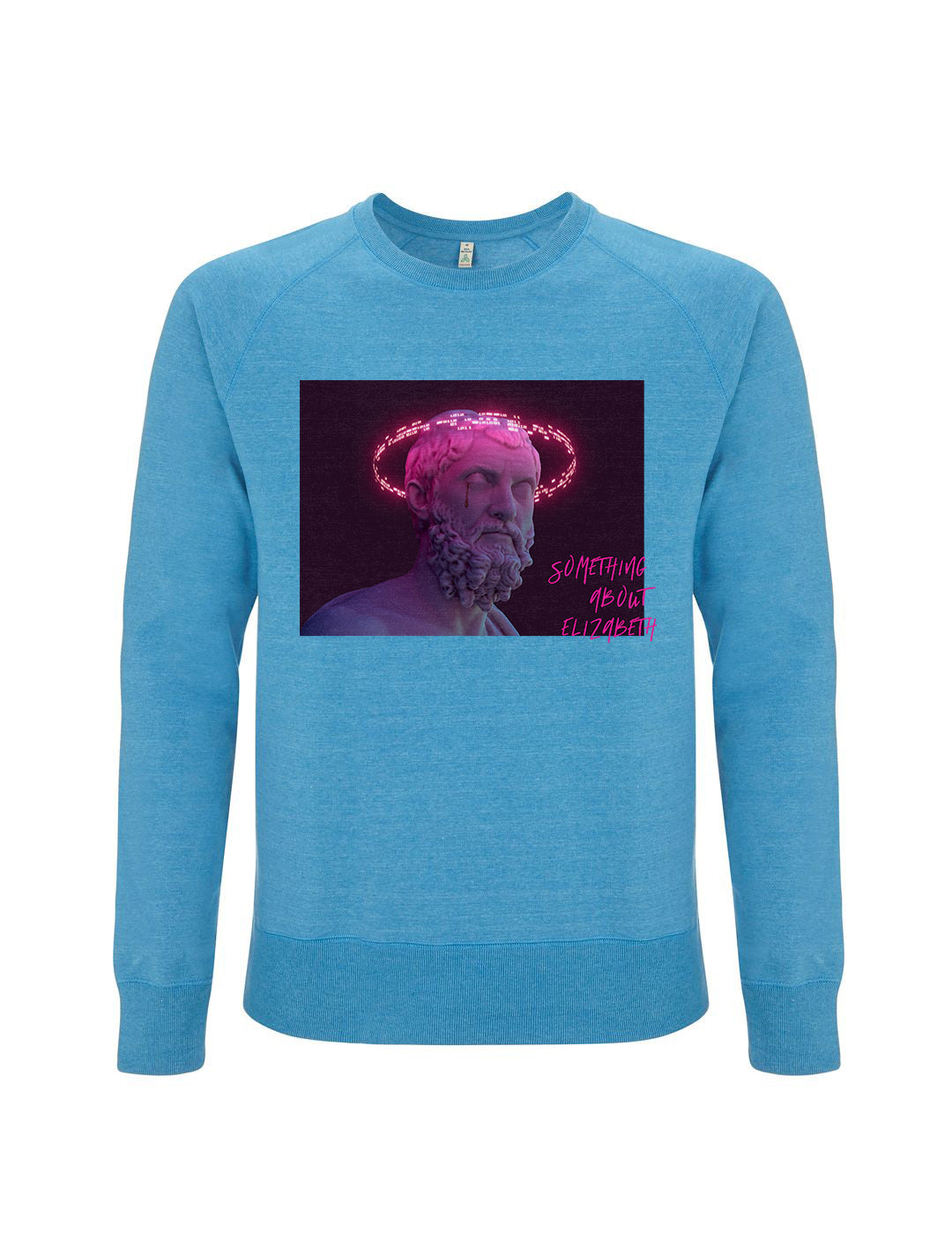 The G Code -Melange Mid Blue Sweatshirt