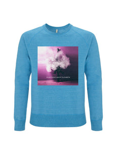The Smoking Gun-Melange Mid Blue Sweatshirt