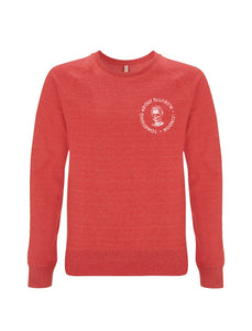 The SAE  Logo - Melange Red Sweatshirt