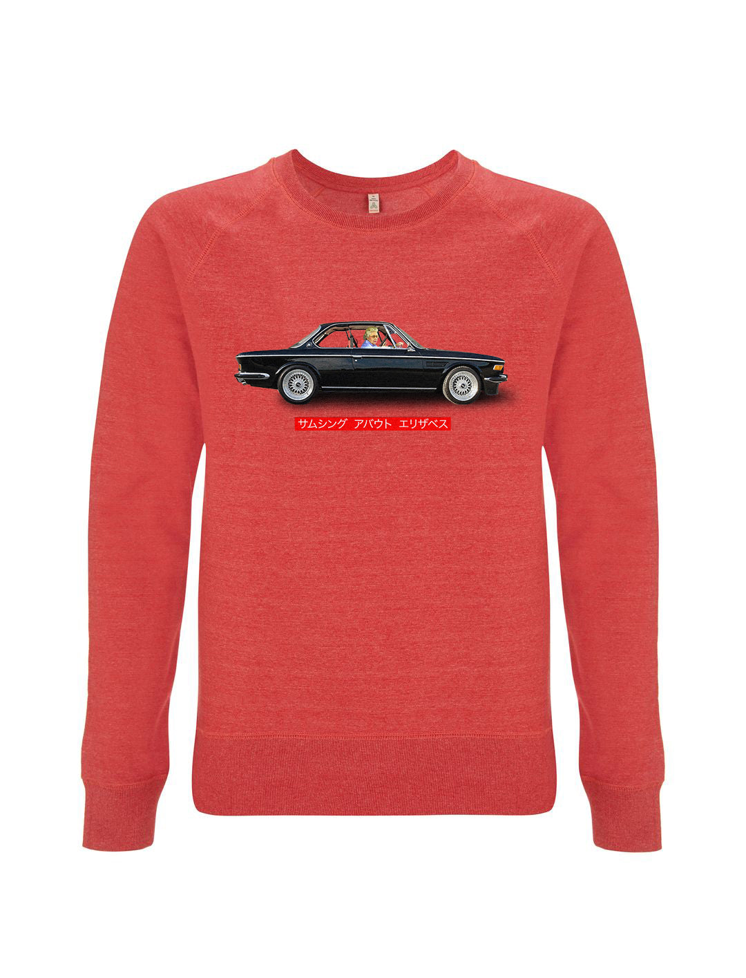 Queen Assassination - Melange Red Sweatshirt