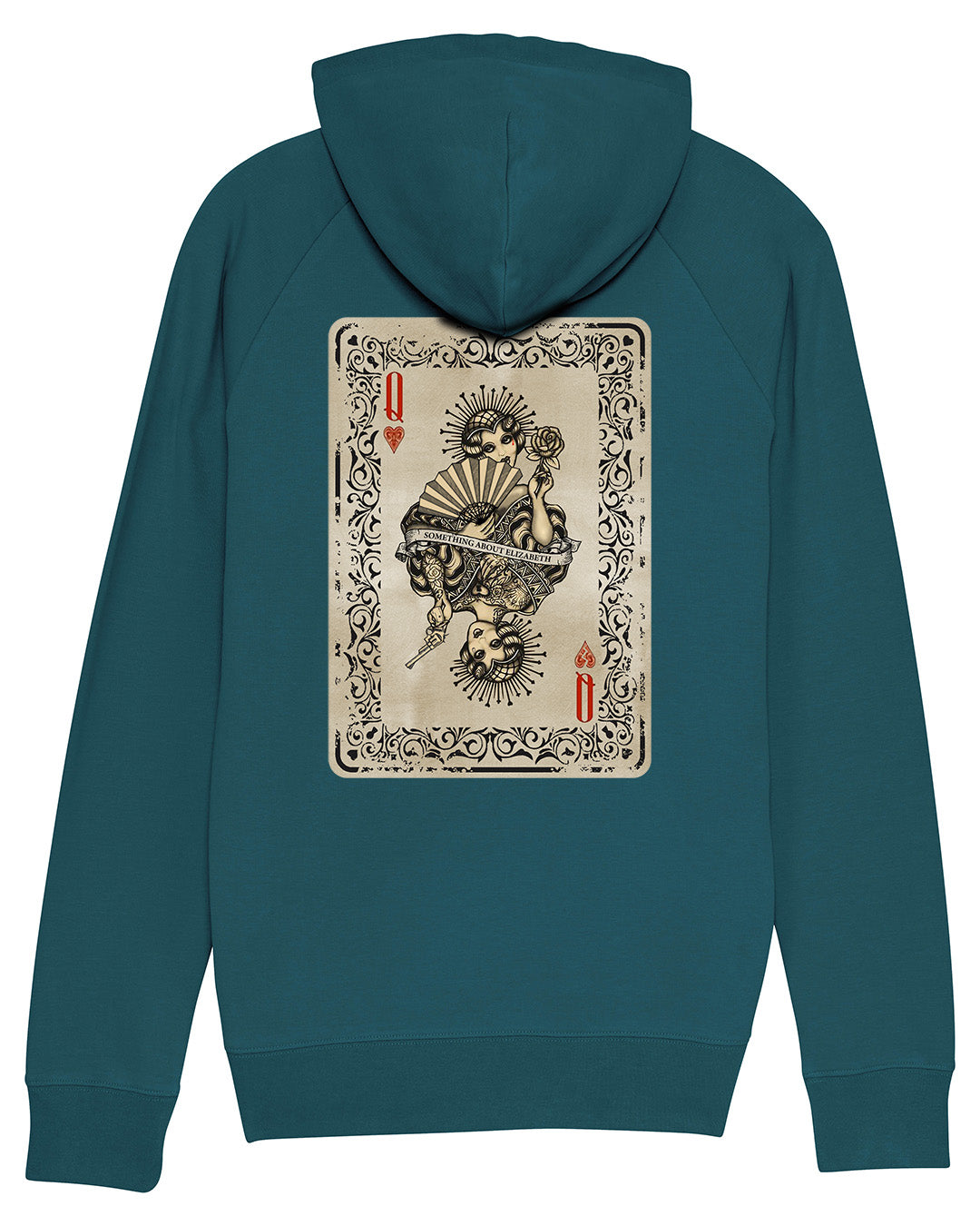 Queen Of Hearts Hoody - Stargazer