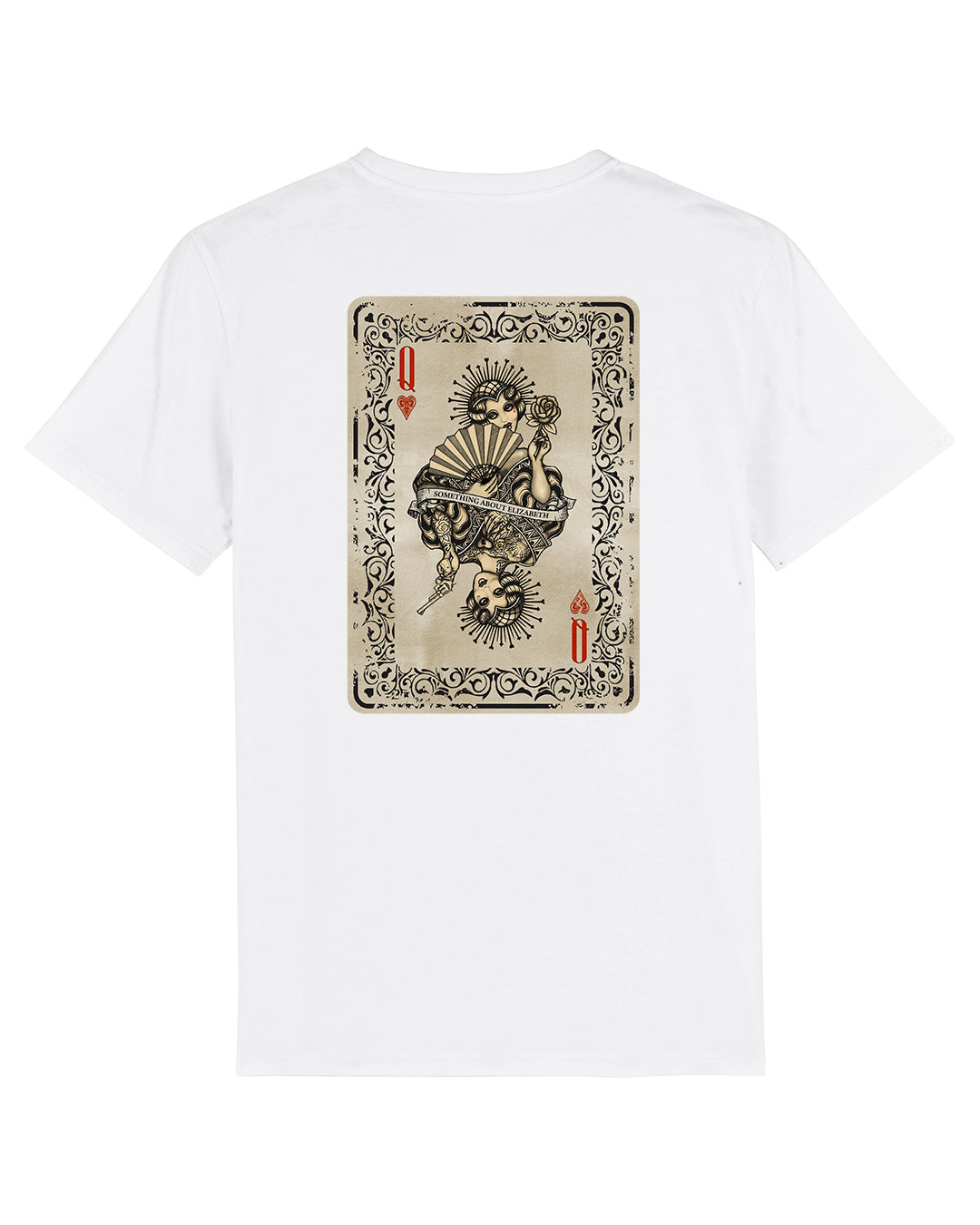 Queen Of Hearts T-Shirt - White