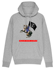 "Load image into Gallery viewer, ""TALLY-HO"" - Light Grey Hoody"