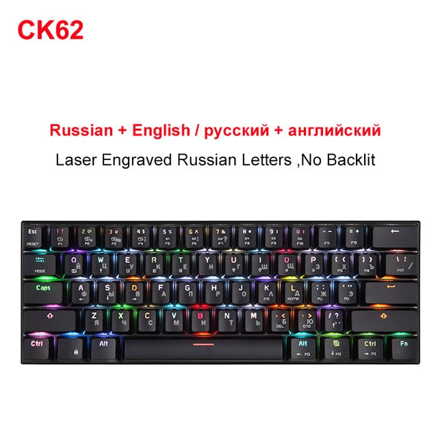 MOTOSPEED CK62 Wireless keyboard