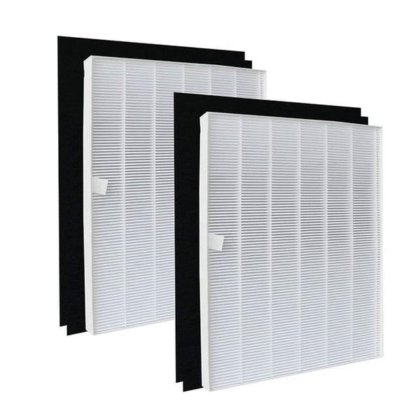 Climestar True HEPA Filter A 115115 Size 21 Pack of 2 Hepa Plus 4 Carbon Filters for Winix Plasmawave Air Purifier 6300 P300 5300 5500 5300-2 6300-2 C535