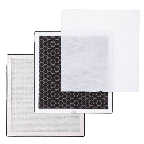 Climestar 3-in-1 True HEPA Filter for PureZone Air Purifier Model – Pack of 2