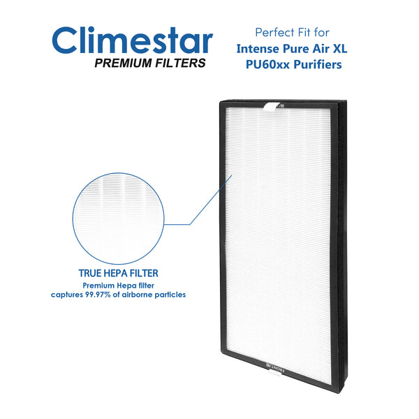 Climestar Compatible Filter for Rowenta XD6076 True HEPA Allergen Remover for PU6020 and PU6010 Intense Pure Air XL Purifier