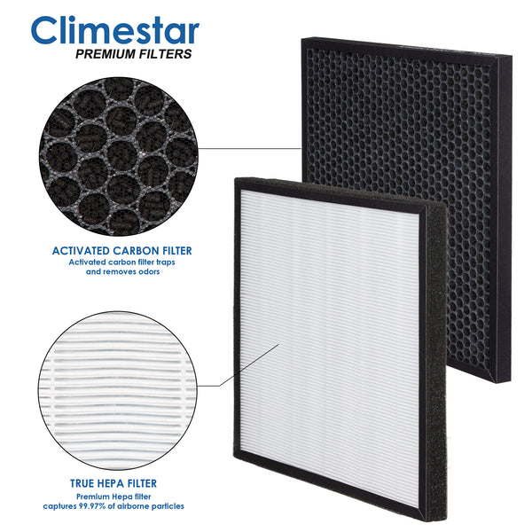 Climestar Filter for Hathaspace HSP001 Smart True HEPA Air Purifier 1