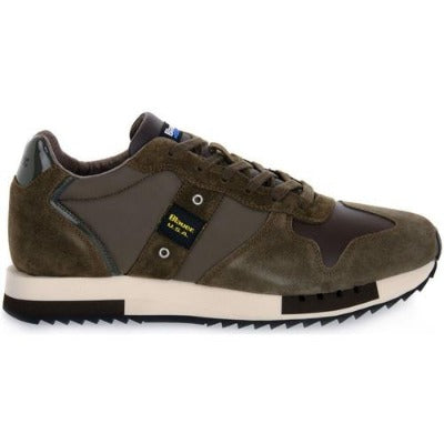SNEAKERS CAMOSCIO DARK