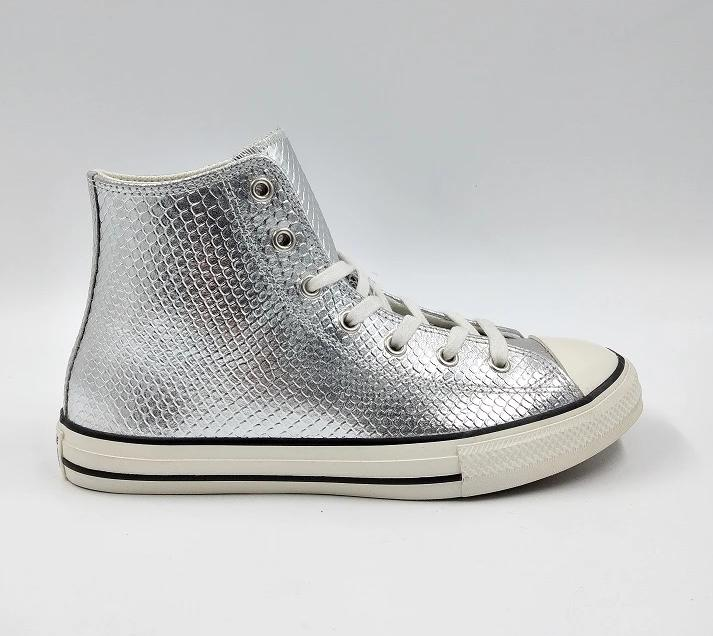 SNEAKERS PELLE PURE SILVER TEEN