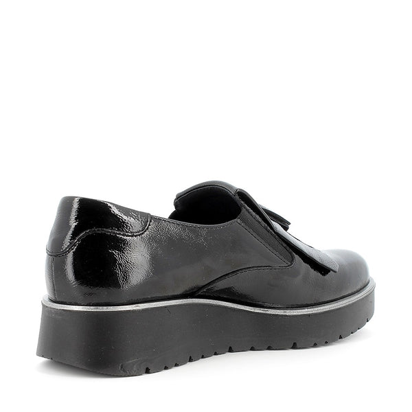 MOCASSINI SLIP ON VERNICE