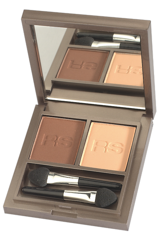 RS Make up - 2mat Shadow - Nougat & Cream 760
