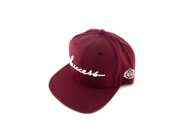 Accessories - Logo Snapbacks (Burgundy) - Success Clothing