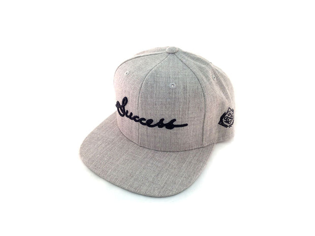 Accessories - Logo Snapbacks (Heather) - Success Clothing