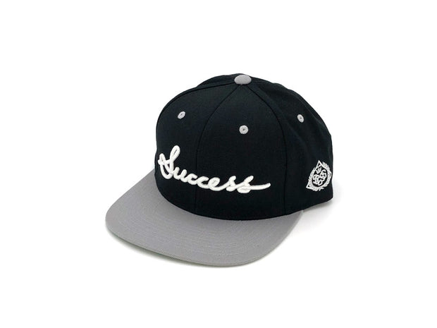 Accessories - Logo Snapbacks (Black/Grey) - Success Clothing
