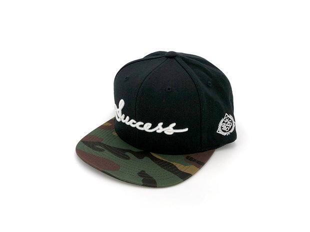 Accessories - Logo Snapbacks (Black/Camo) - Success Clothing