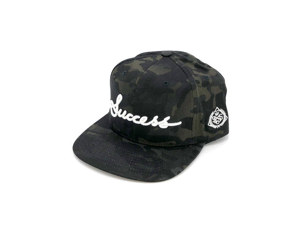 Accessories - Logo Snapbacks (Black Camo) - Success Clothing