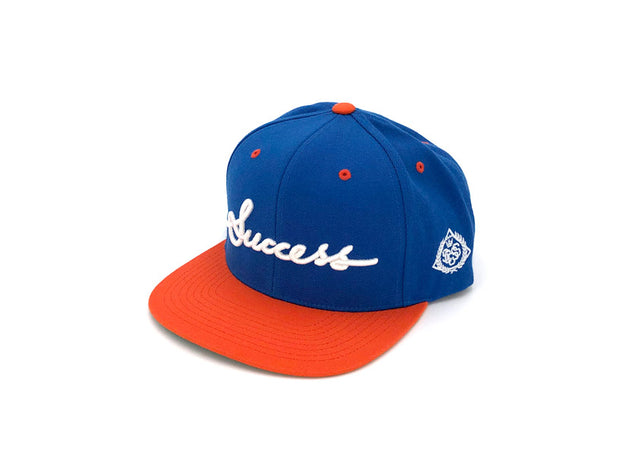Accessories - Logo Snapbacks (Blue/Orange) - Success Clothing