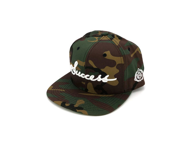Accessories - Logo Snapbacks (Camo) - Success Clothing